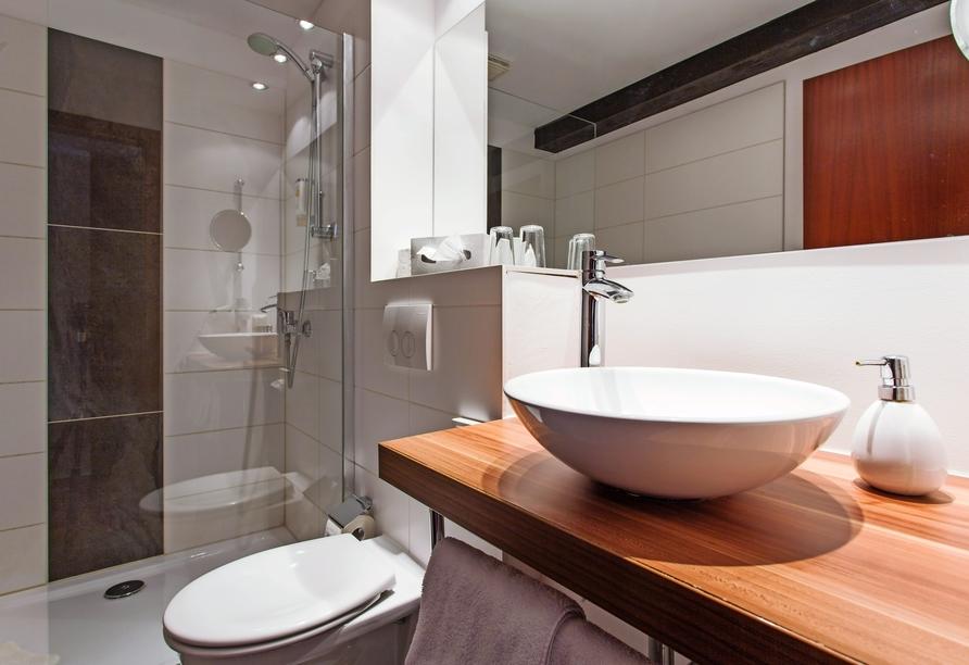 Hotel Halberstädter Hof, Badezimmerbeispiel