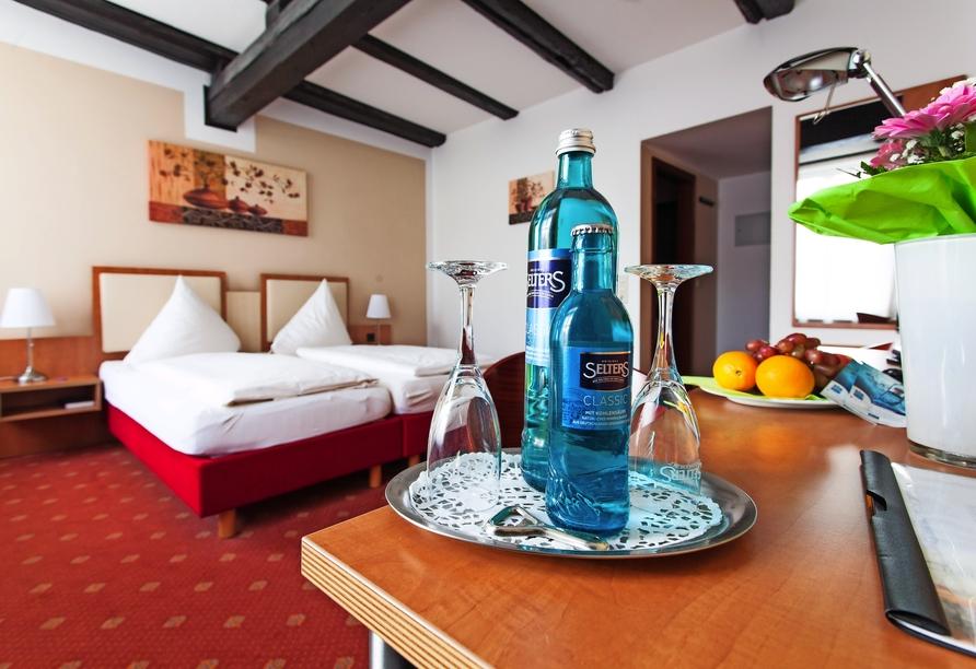 Hotel Halberstädter Hof, Beispiel Doppelzimmer