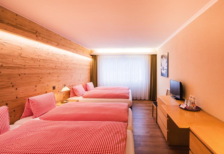Hotel Weisses Kreuz in Brienz, Zimmerbeispiel