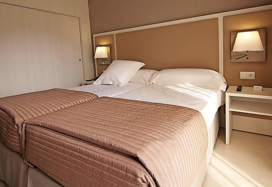 Beispiel eines Doppelzimmers im Hotel Estival Centurión Playa
