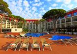 Außenbereich des Hotels Estival Centurión Playa in Cambrils