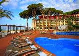 Außenpool des Hotels Estival Centurión Playa in Cambrils