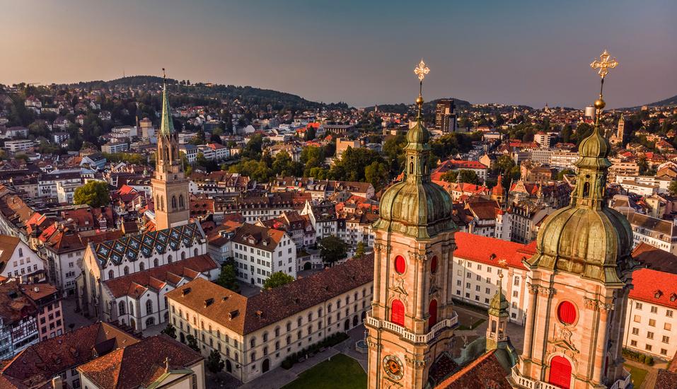 Radisson Blu Hotel St. Gallen, Schweiz, St.Galler Stiftsbezirk