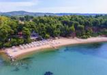 Entdeckerreise Chalkidiki, Hotel Strand