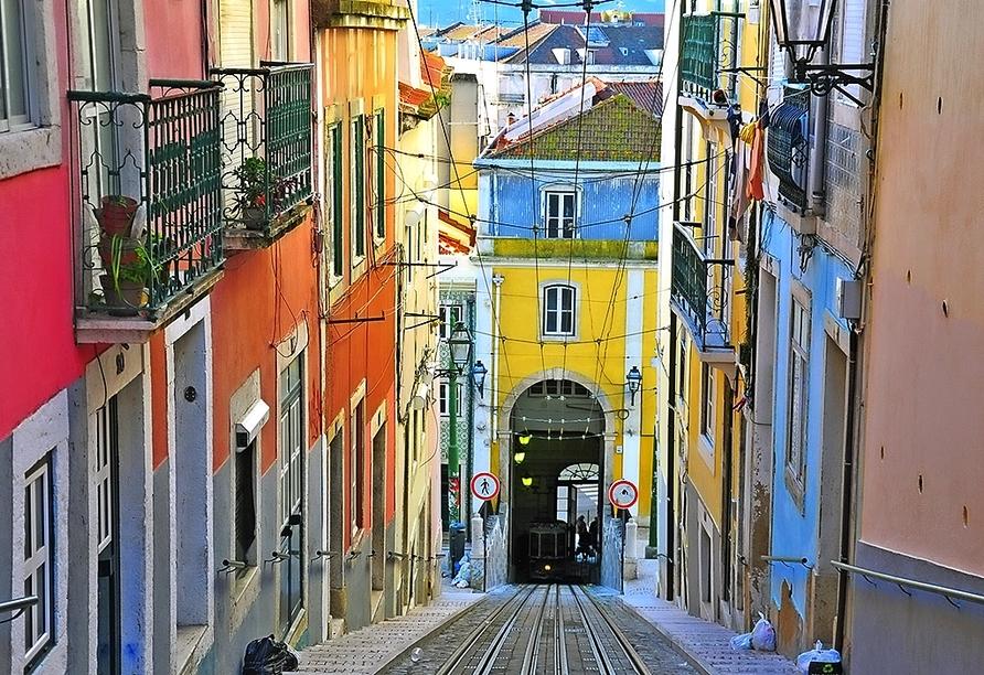 Hotel Mundial in Lissabon, Straßenbahn