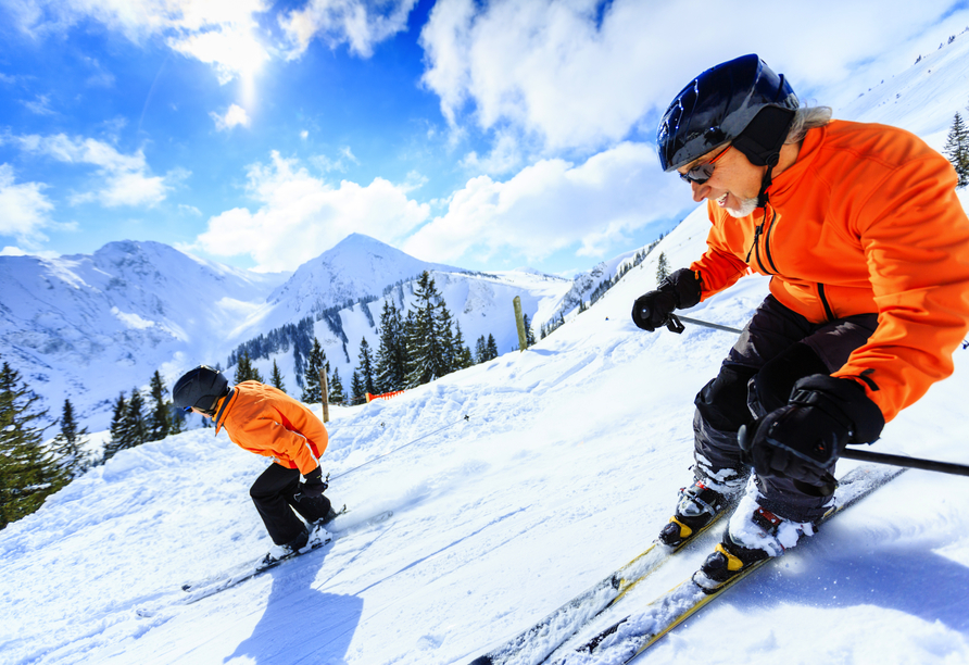 Hotel Crystal Engelberg, Skifahrer