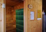 Hotel Crystal Engelberg, Beispiel Sauna