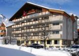 Hotel Crystal Engelberg, Außenansicht