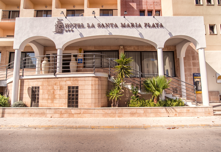 Hotel La Santa Maria Playa, Außenansicht