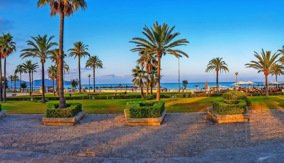 Hotel La Santa Maria Playa, Strandpromenade