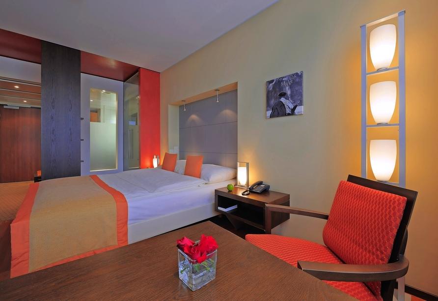 Radisson Blu Hotel St. Gallen, Schweiz, Zimmerbeispiel