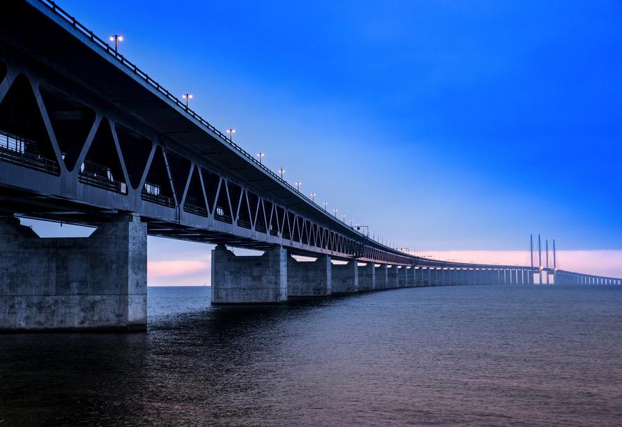 Kurzreise Dänemark, Öresundbrücke