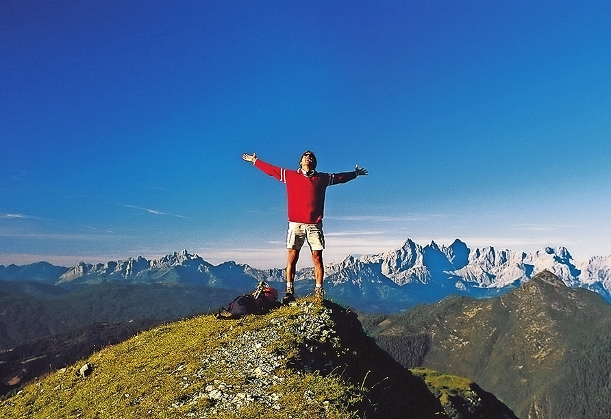 Hotel Lammwirt Jerzens Pitztal Tirol, Aussicht Berge