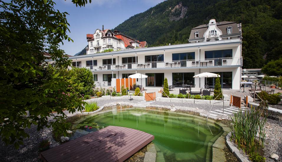 Carlton- Europe Vintage, Schweiz, Hotelpark