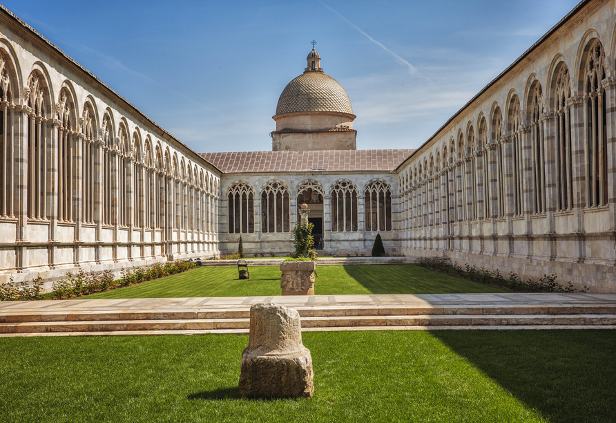 Toskana – Kultur und La Dolce Vita, Camposanto, Pisa