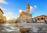Toskana – Kultur und La Dolce Vita, Piazza della Signoria, Palazzo Vecchio, Florenz