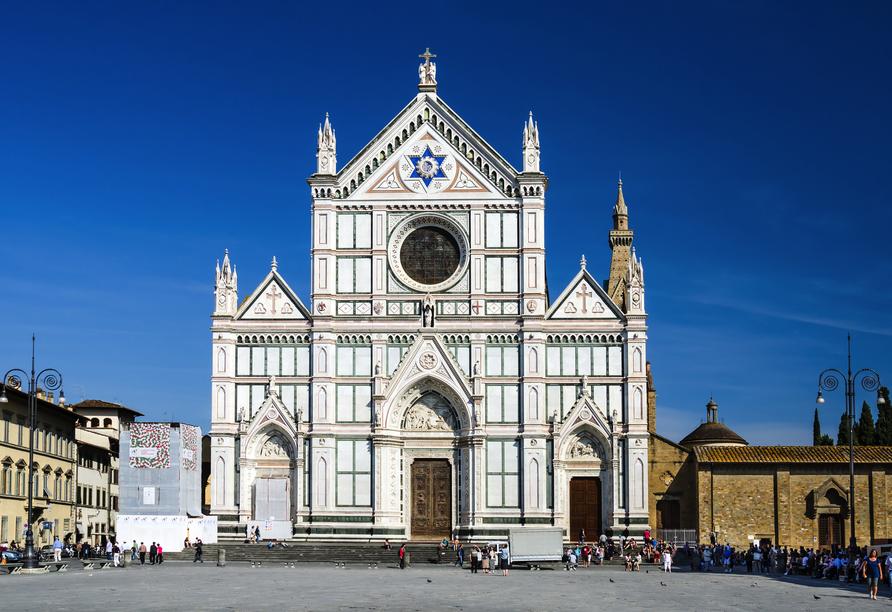Toskana – Kultur und La Dolce Vita, Santa Croce Kirche, Florenz