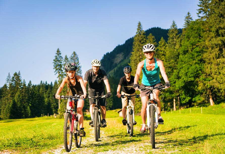 Ferienhotel Gewürzmühle in Radstadt, Fahrradtour