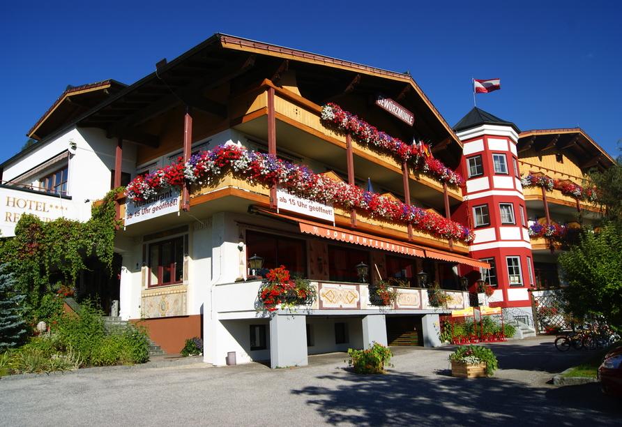 Ferienhotel Gewürzmühle in Radstadt, Außenansicht