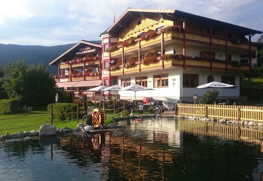 Ferienhotel Gewürzmühle in Radstadt, Naturpool