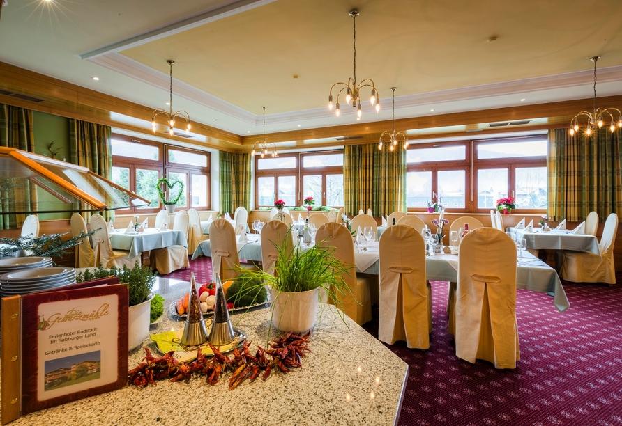 Ferienhotel Gewürzmühle in Radstadt, Restaurant