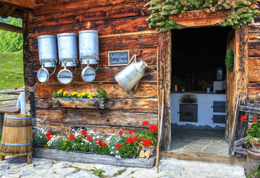 Ferienhotel Gewürzmühle in Radstadt, Ausflugsziel Almbesuch