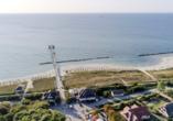 In bester Lage genießen Sie pure Ostseeromantik direkt am Strand.