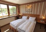 Beispiel Schlafbereich im Doppelzimmer