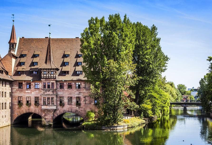 Das Heilig Geist Spital in Nürnberg