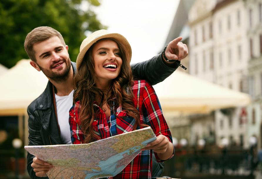 Entdecken Sie gemeinsam die schönsten Ecken Nürnbergs.