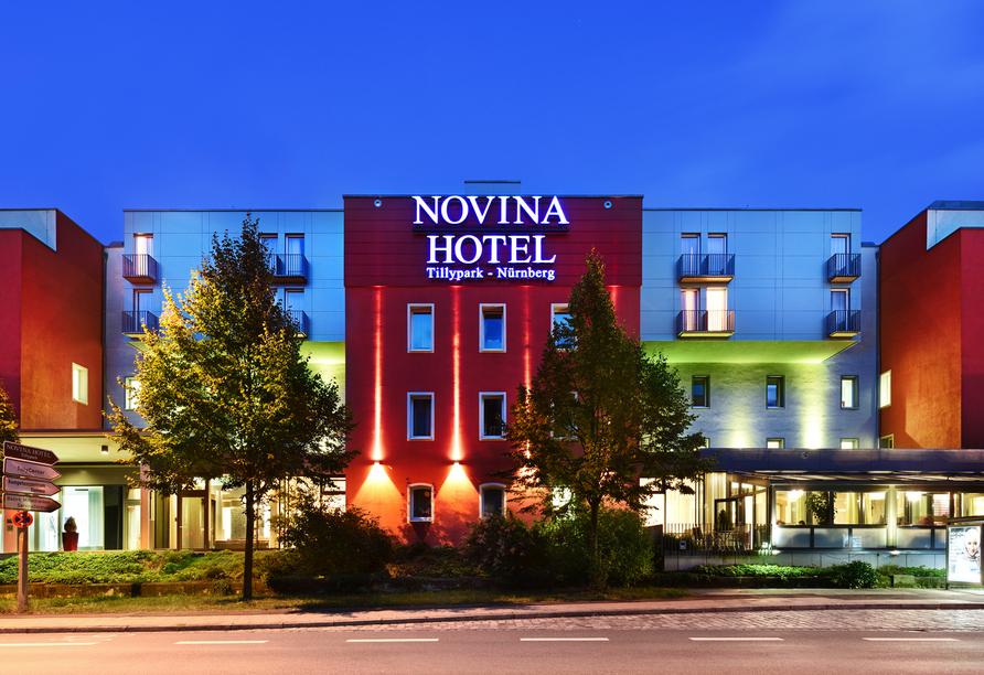 Außenansicht des NOVINA HOTEL Tillypark
