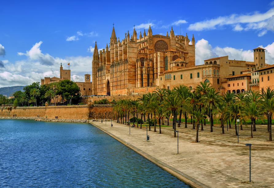 Auch ein Ausflug nach Palma de Mallorca steht auf dem Programm.