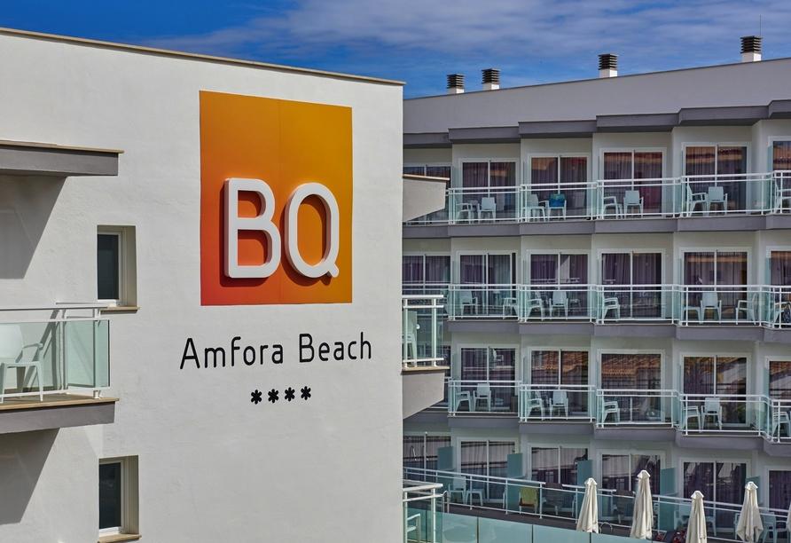 Hotel BQ Amfora Beach, Außenansicht