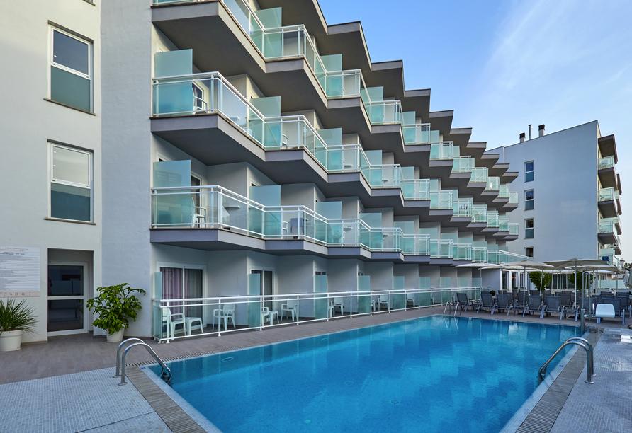 Hotel BQ Amfora Beach, Außenpool