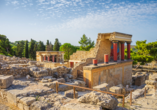 Oasis Beach Hotel in Anissaras, Knossos Palast