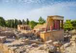 Mietwagen-Rundreise Kreta, Palastvon Minos, Knossos