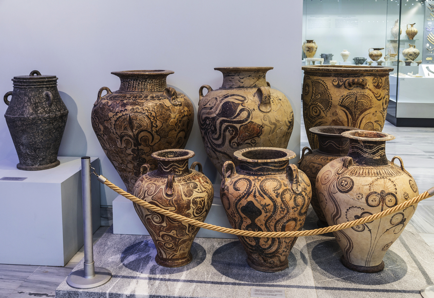 Mietwagen-Rundreise Kreta, Archäologisches Museum Heraklion