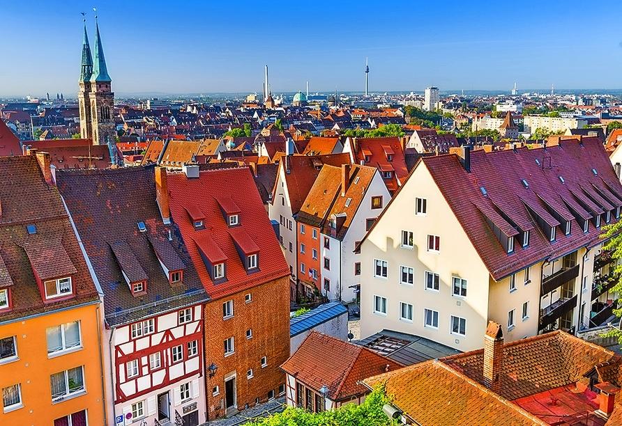 Unternehmen Sie einen Ausflug in die Frankenmetropole Nürnberg!