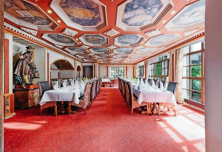Restaurant im Landgasthof-Hotel Riesengebirge