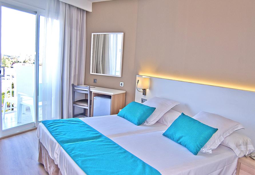 Hotel BQ Delfín Azul, Beispielzimmer