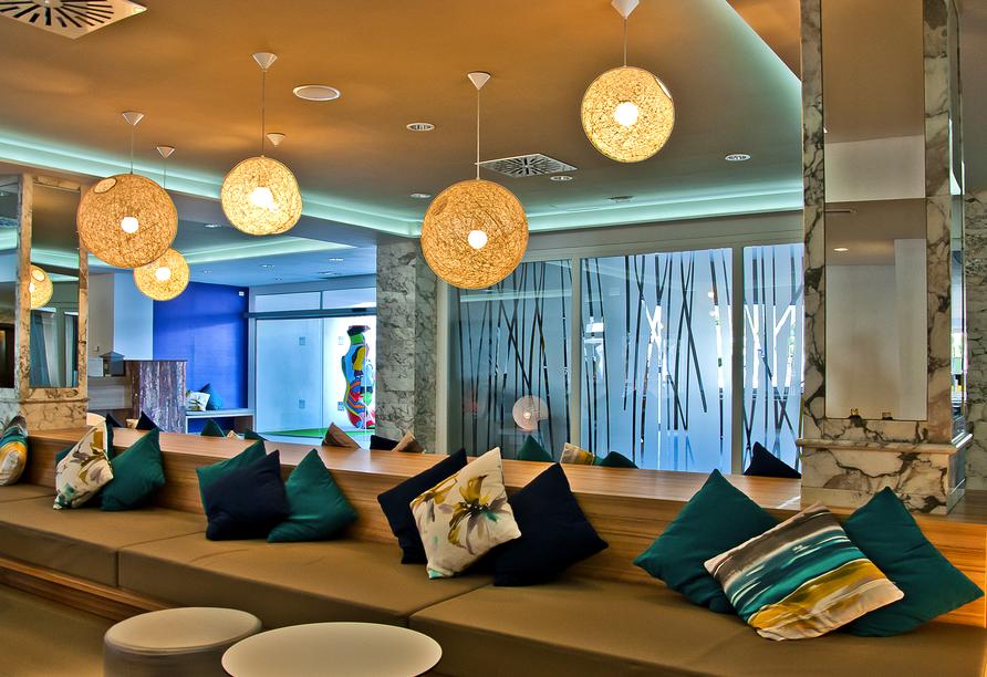 Hotel BQ Delfín Azul, Lobby