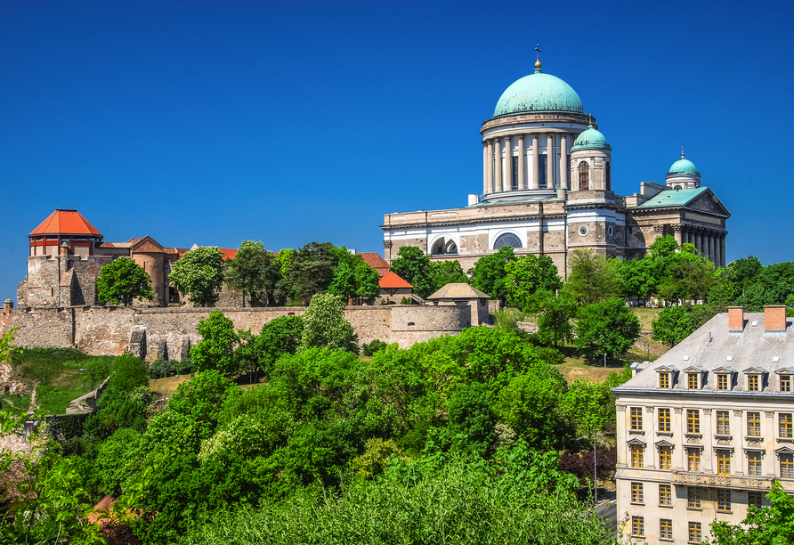 Rundreise entlang Ungarns Highlights, Esztergom