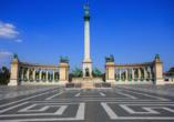 Rundreise entlang Ungarns Highlights, Heldenplatz