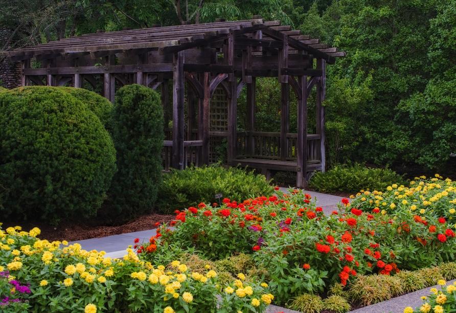 Rundreise entlang Ungarns Highlights, botanischer Garten, Badacsony