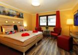 Beispiel für ein Doppelzimmer Standard.