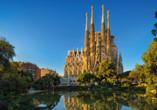 Die Sagrada Família in Barcelona ist das berühmteste Meisterwerk Antoni Gaudís.