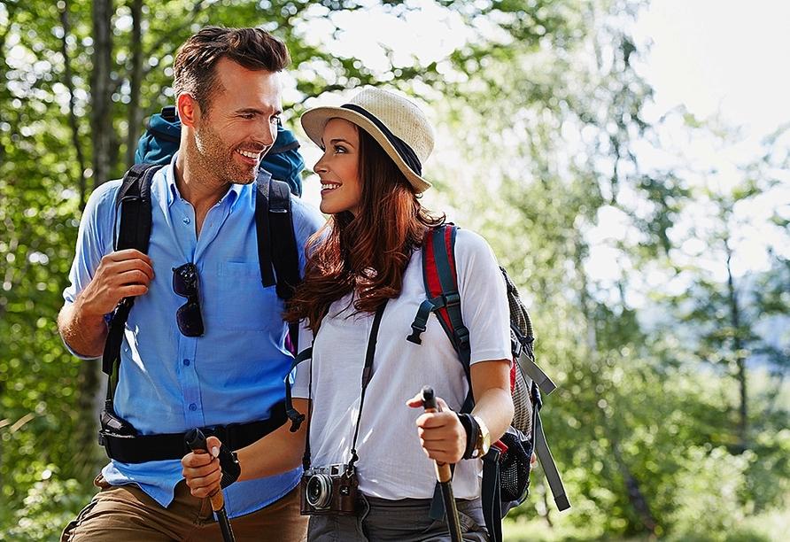 Bewandern Sie die Region rund um Ihren Urlaubsort Bad Wörishofen im Allgäu.