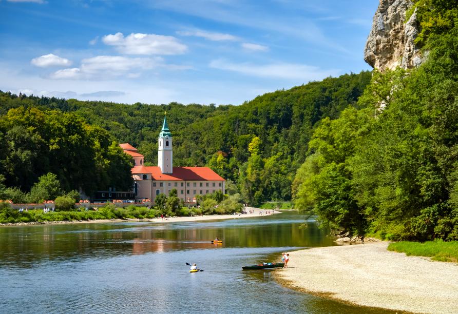 The Monarch Hotel, Ausflugsziel Kloster Weltenburg
