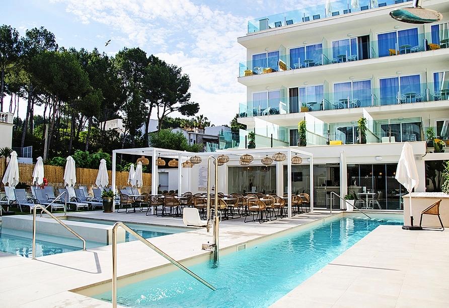 Willkommen im Hotel BQ Paguera Boutique!