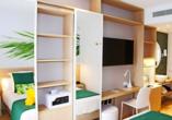 Beispiel eines Doppelzimmers Twin Room